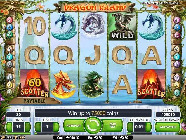 bonus online casino dragon island