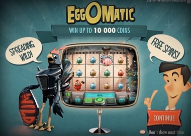 Crazy EggOMatic and other slots at Casumo