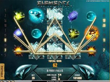 Elements Of Awakening slot at Casumo