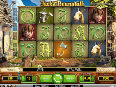 free slots jack and the beanstalk