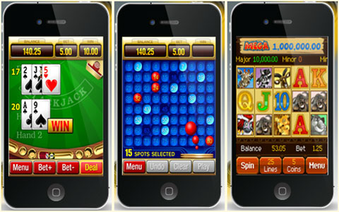 casino games iphone