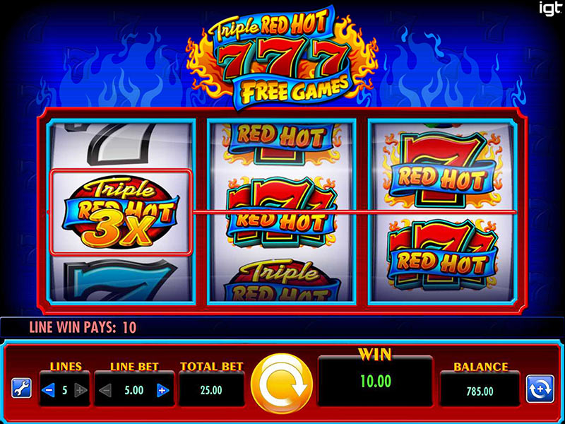 Triple Flamin 7s Slot™ Slot Machine Game to Play Free in WGSs Online Casinos