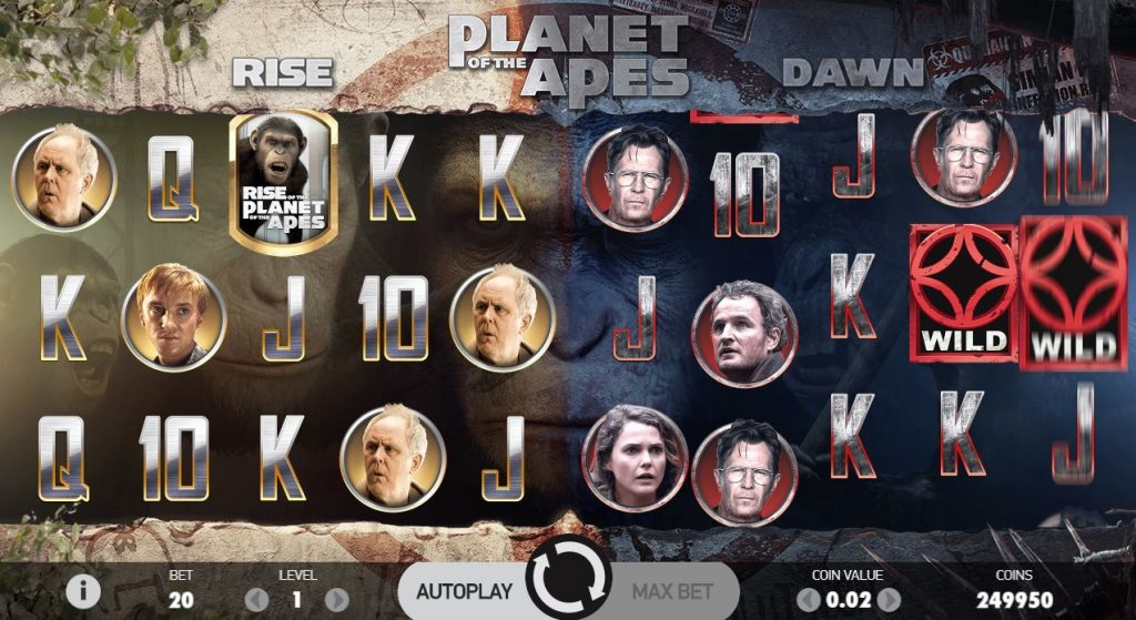 Planet of the Apes - Casumo Casino