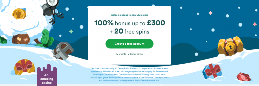 Casumo Free Spins UK