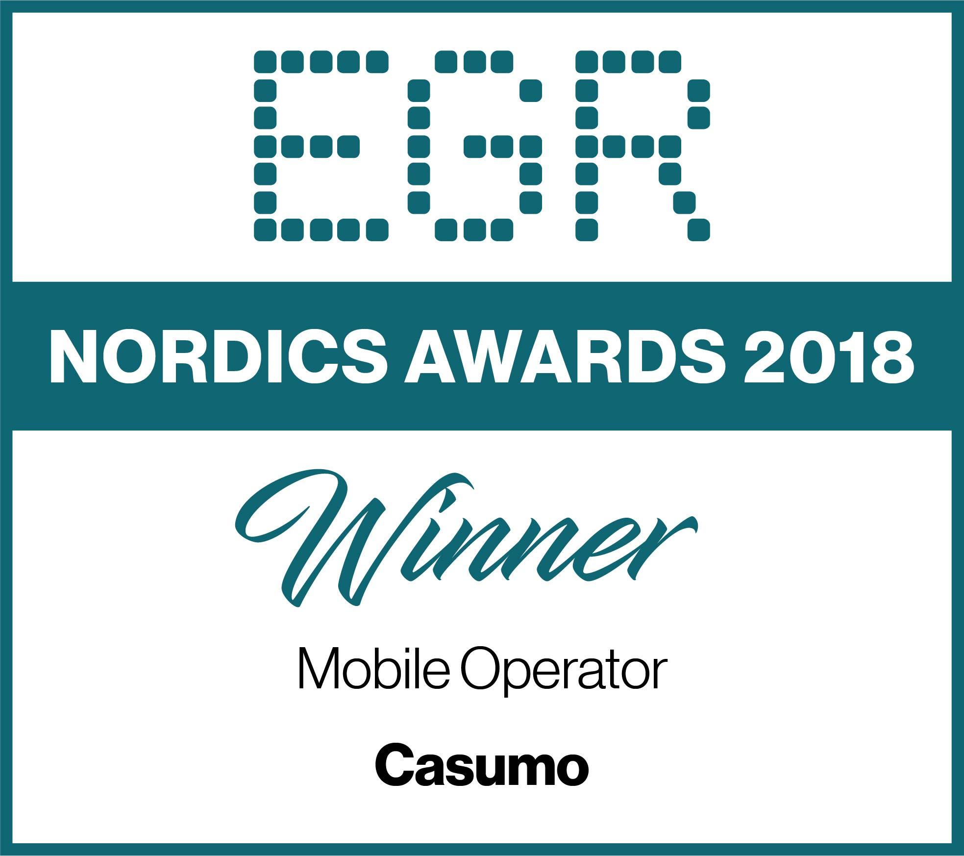 EGR Nordic Awards 2018 Casumo