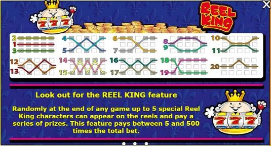Reel King Bonus