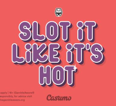 Lots of slots on Casumo