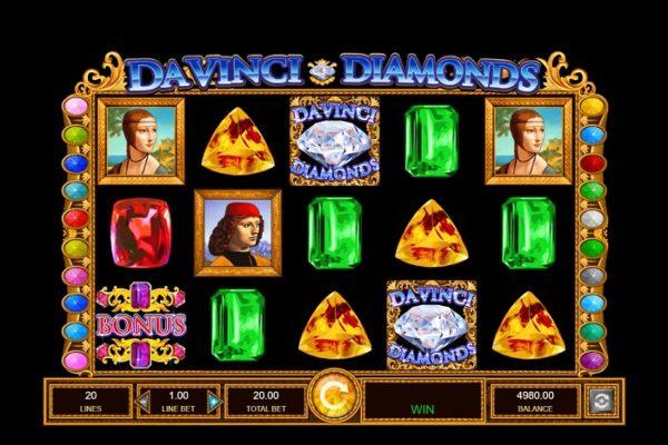 Slot Review: Da Vinci Diamonds