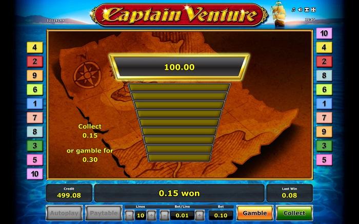 Captain Venture Bonus Gambling