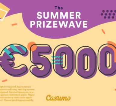 Casumo Summer Prizewave Ends