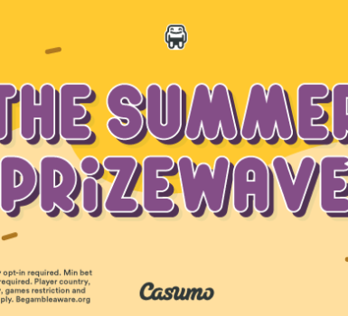 Casumo Summer Prizewave has arrived