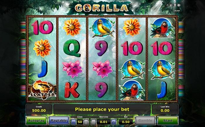 Gorilla Slot Reels