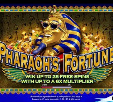 Pharaoh's Fortune Casumo