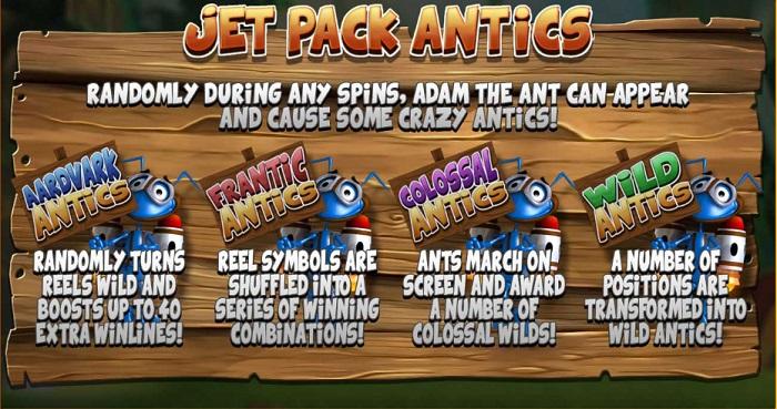 Wild Antics Bonus