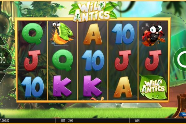 Slot Review: Wild Antics