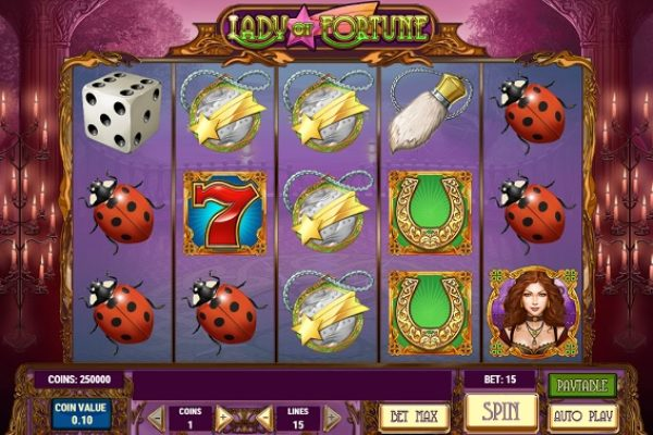 Slot Review: Lady of Fortune