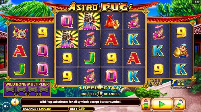 Astro Pug Screen