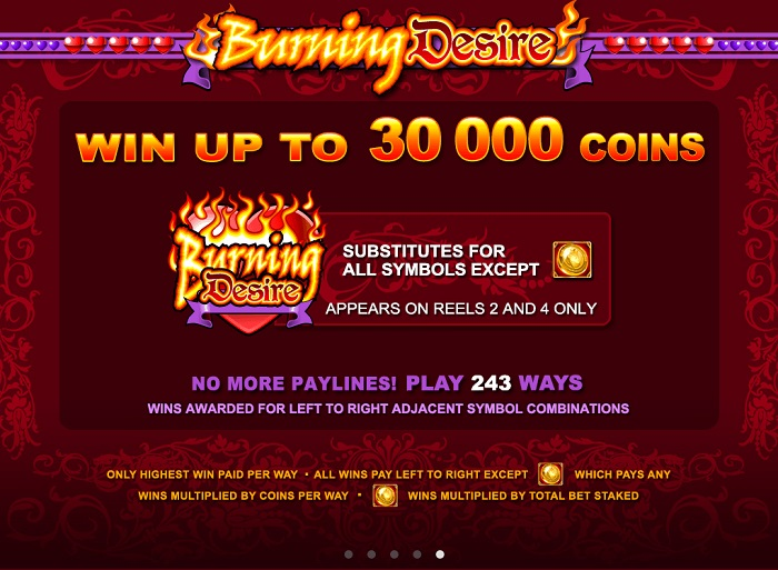 Burning Desire Bonus