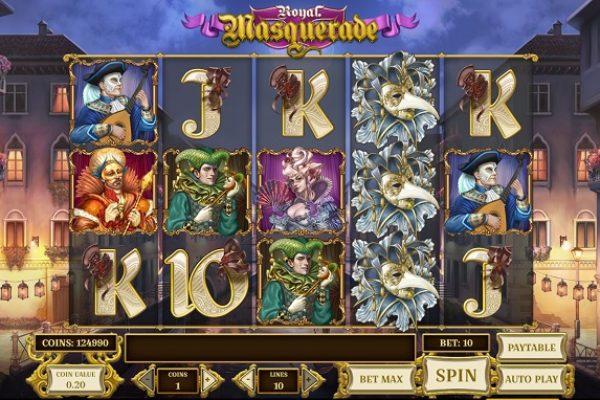 Slot Review: Royal Masquerade