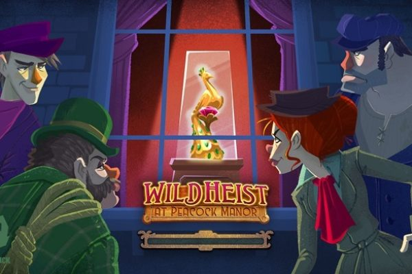 Slot Review: Wild Heist at Peacock Manor