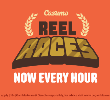 Casumo Reel Races Now Every Hour