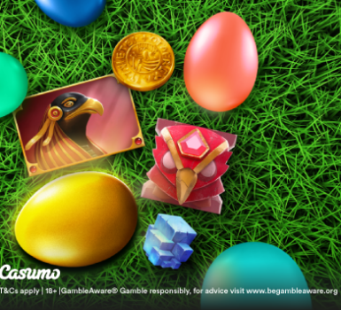 Reminder Golden Egg Hunt on Casumo