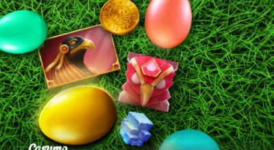 Reminder Golden Egg Hunt on Casumo