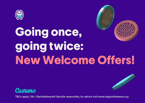 Reminder New Welcome Offers Casumo